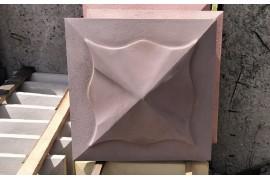Крышка четырехскатная МЕДУЗА цветная 45х45 декоративная купить в Барановичах недорого, возможна доставка