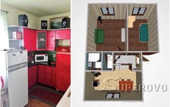 Продам 2-комнатную квартиру Барановичский район д. Подлесейки