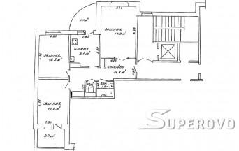 Продам 3-комнатную квартиру в Барановичах в Центре