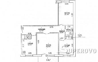 Продам 3-комнатную квартиру в Ляховичском районе д. Дарево-Чиж