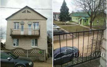 Продам дом в Барановичах в р-не ТЭЦ (на 2 семьи)