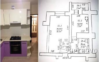 Продам 1-комнатную квартиру в Барановичах в Боровках