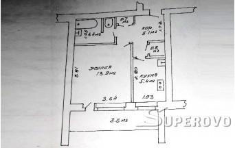 Продам 1-комнатную квартиру в Барановичах в Восточном м-не