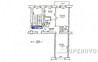 Продам 2-комнатную квартиру в Барановичах в Текстильном мкр
