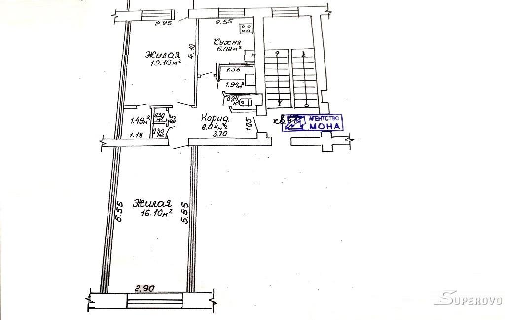 Продам 2-комнатную квартиру в Барановичах на Текстильном Космонавтов