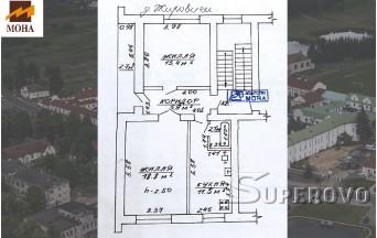 Продам 2-комнатную квартиру в Жировичах