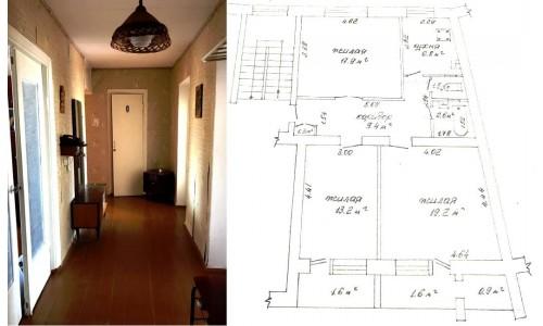 Продам 3-комнатную квартиру в Барановичах в Северном м-не