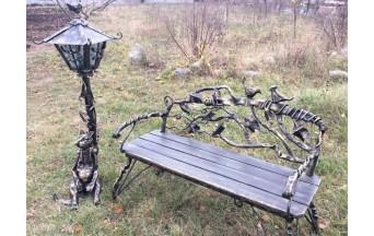 Купить парковую скульптуру в Барановичах Скамейка