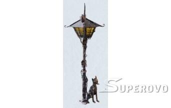 Купить парковую скульптуру в Барановичах Фонарь