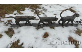 Купить парковую скульптуру в Барановичах МАРТОВСКИЕ КОТЫ